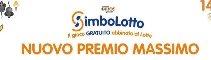 Nuovo Simbolotto: premio 10.000 Euro