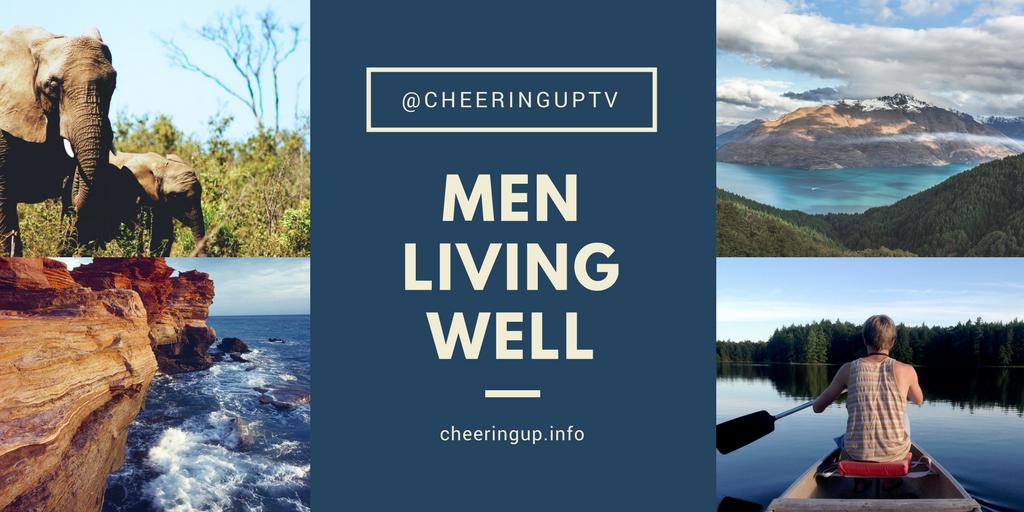 Living Well Tips Advice Support For Men in UK