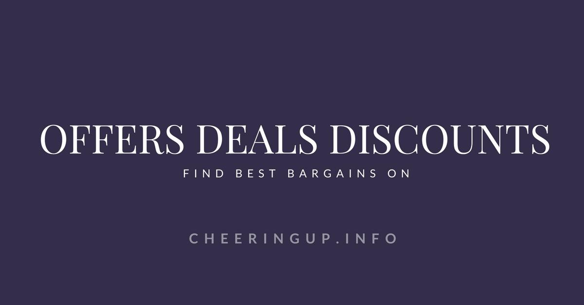 Best Deals Discounts Special Offers on cheeringup.info