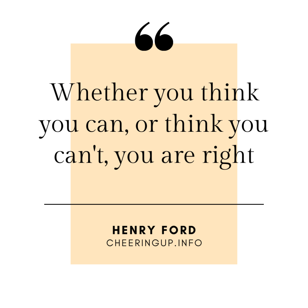 Henry Ford Quote Providing Inspiration and Encouragement To Achieve More In Your Life In UK