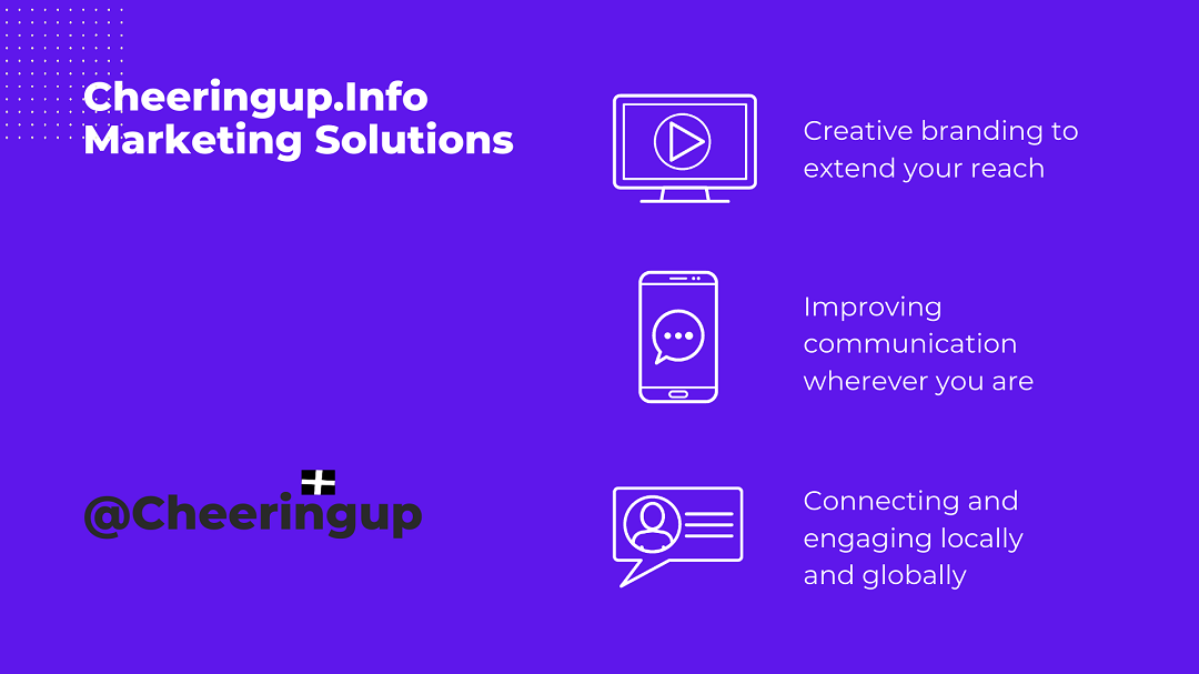 Marketing Solutions CheeringupInfo