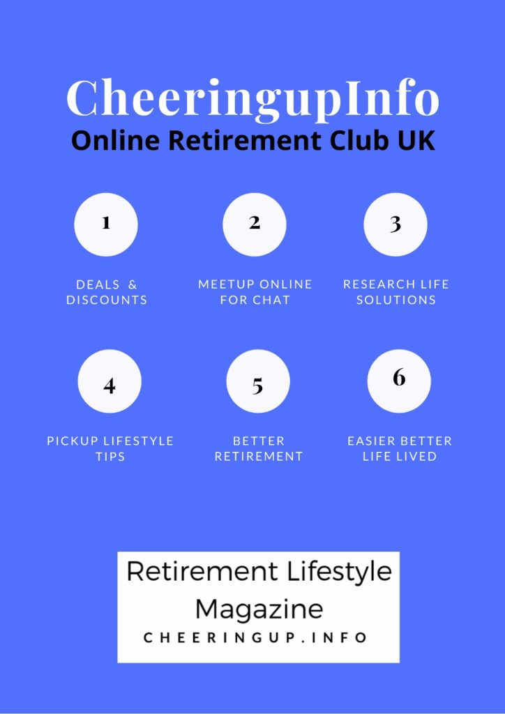 Clubs For Over 55s Near Me UK and Online