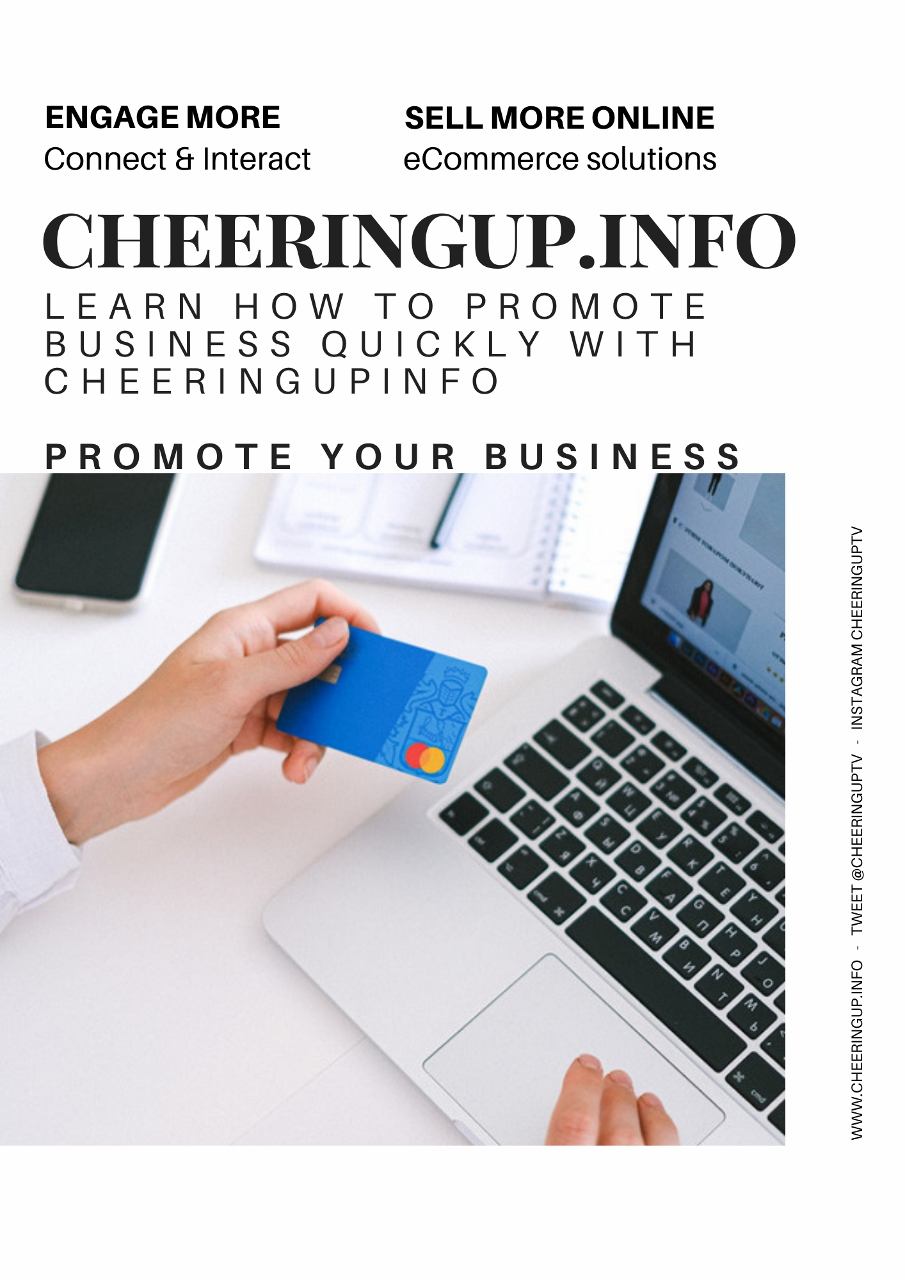 How To Promote Your Business online with CheeringupInfo