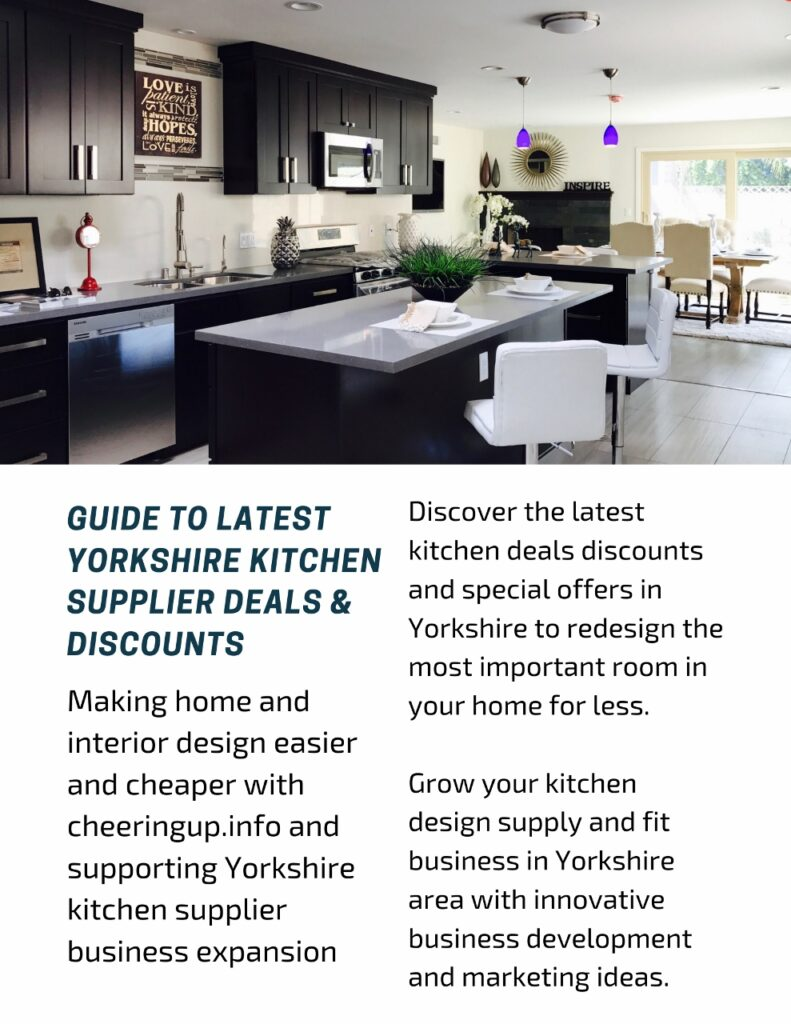 Guide to latest Yorkshire kitchen supplier deals & discounts