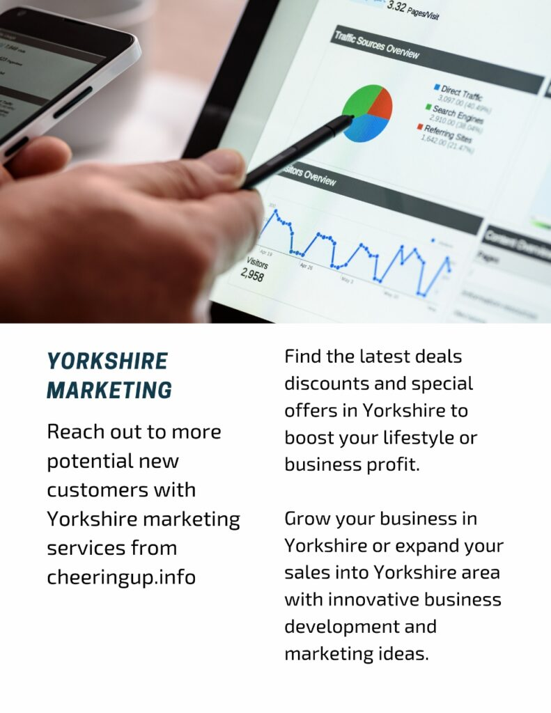 Reach out to more potential new customers with Yorkshire marketing services from cheeringup.info