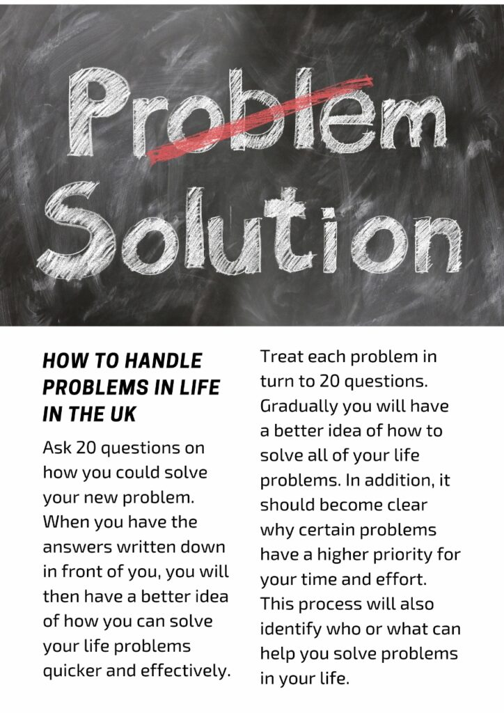 How To Deal With Problems On Your Own