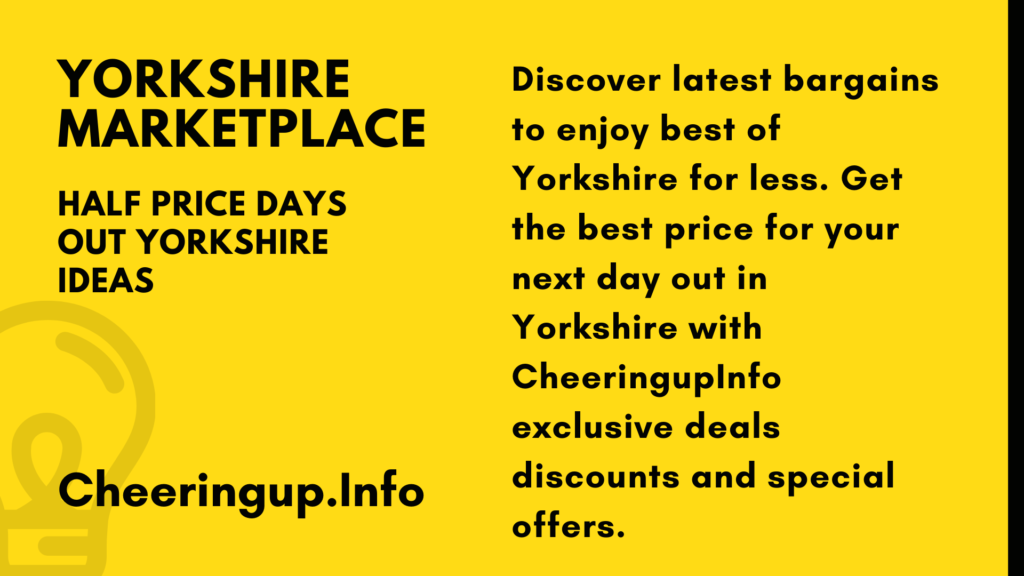Yorkshire Marketplace Deals Discounts Special Offers