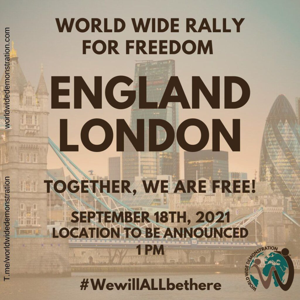 London Freedom From NWO