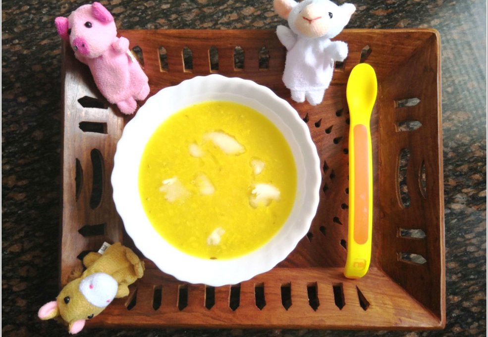 Homemade Dal Recipe for Babies