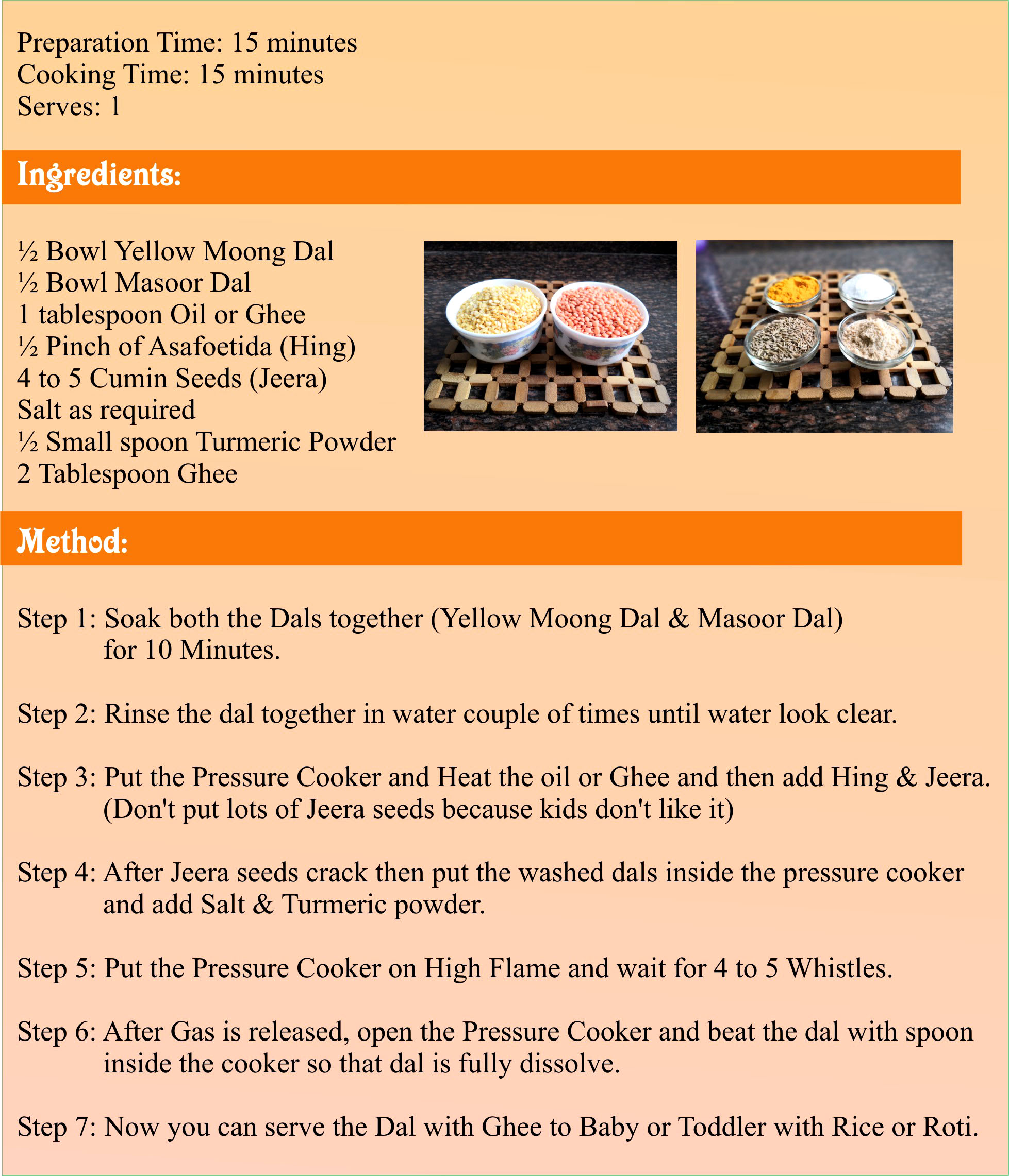 Homemade Dal Recipe