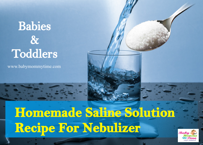 Homemade Saline Solution Recipe For Nebulizer: Babies & Toddlers