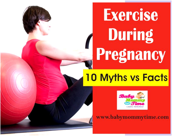 Exercise During Pregnancy : 10 Myths vs Facts