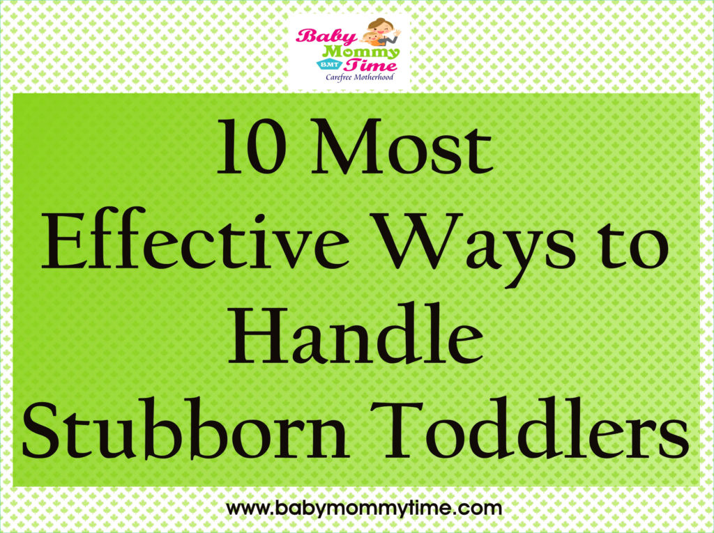 Stubborn Toddlers