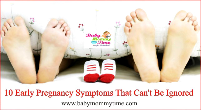 10 Early Pregnancy Symptoms That Can't Be Ignored