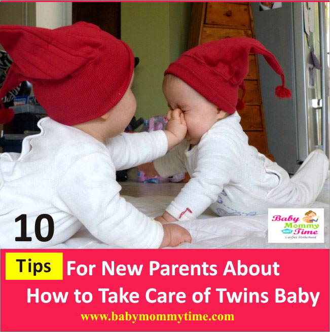 Twins Baby Care: 10 Tips for New Parents for Raising Twins