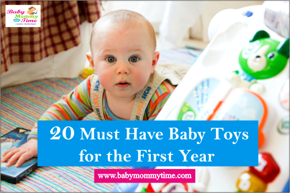 20 Must Have Baby Toys for the First Year