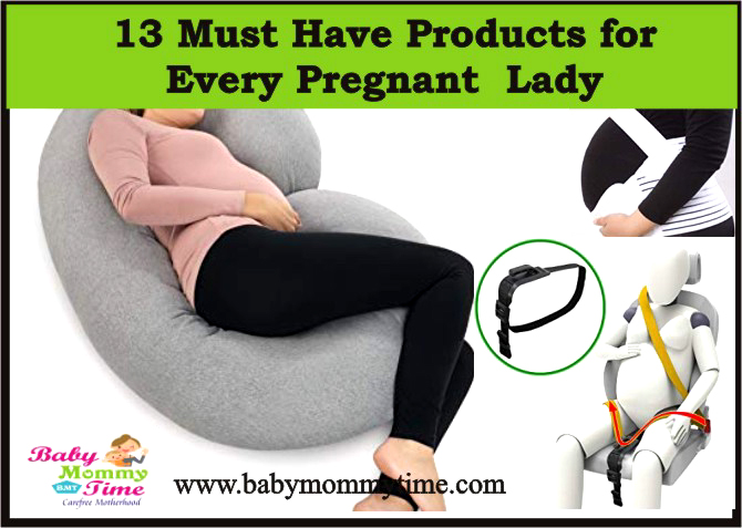 13 Must Have Products for Every Pregnant Lady