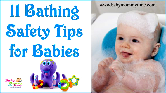 11 Bathing Safety Tips for Babies