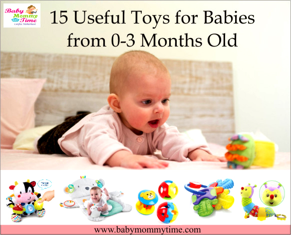 15 Useful Toys for Babies from 0-3 Months Old