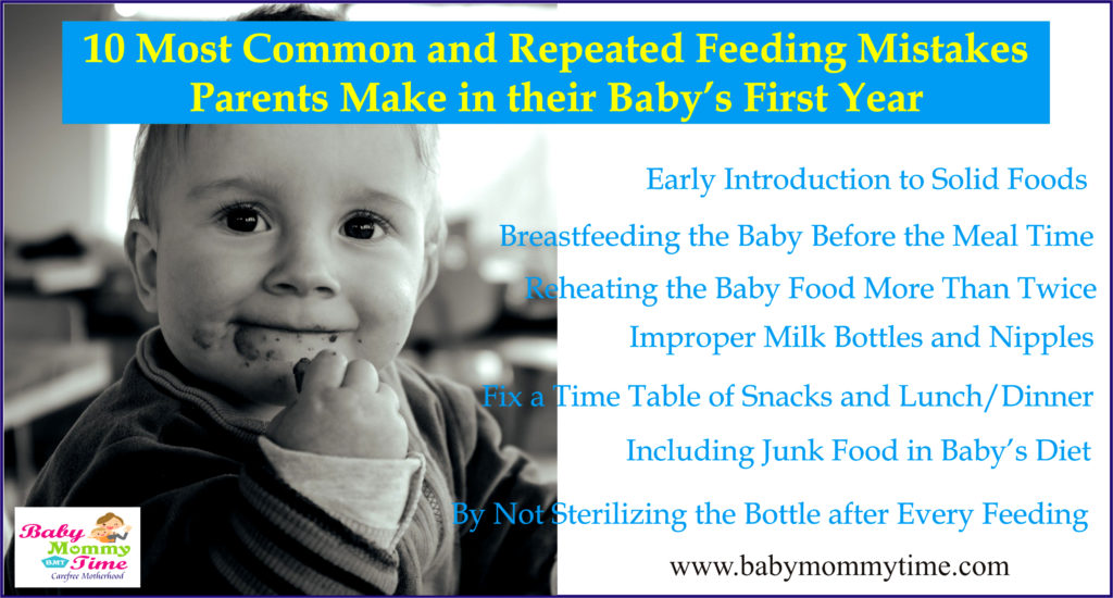 Feeding Mistakes
