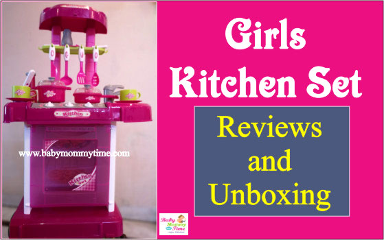 First Impression and Review of Kitchen Set for Kids