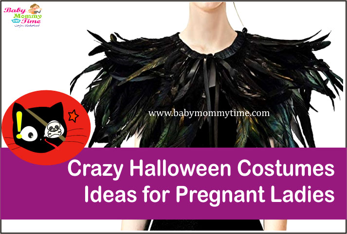Crazy Halloween Costumes Ideas for Pregnant Ladies