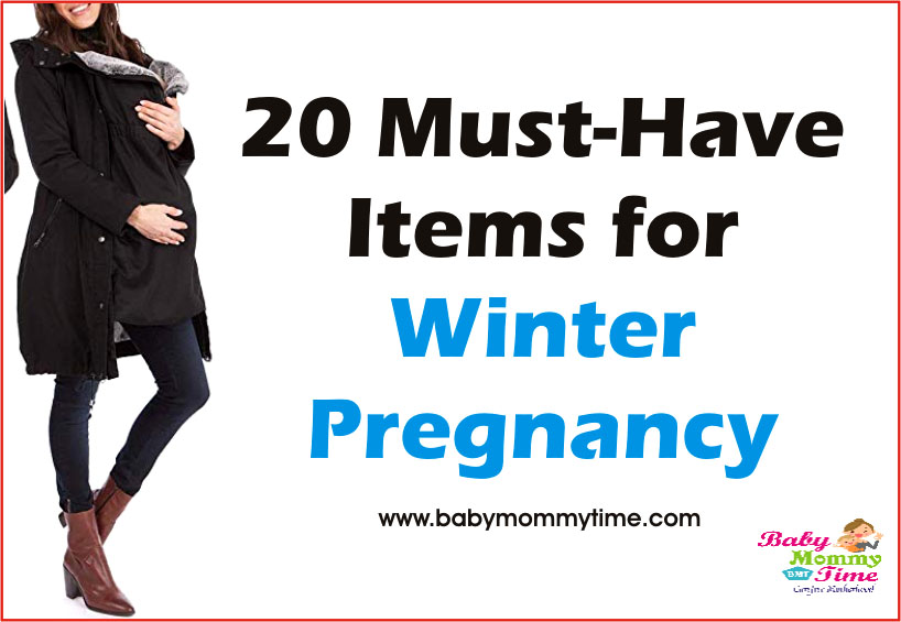 20 Must-Have Items for Winter Pregnancy