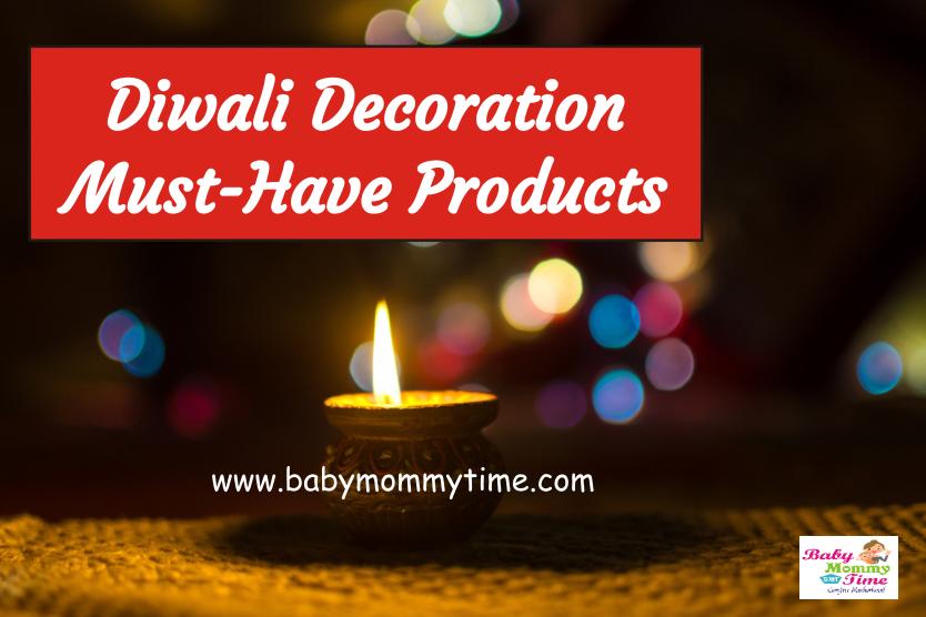 Diwali Decoration Must-Have Products (Diwali Essentials)