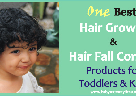 One Best Hair Growth & Hair Fall Control Products for Toddlers & Kids