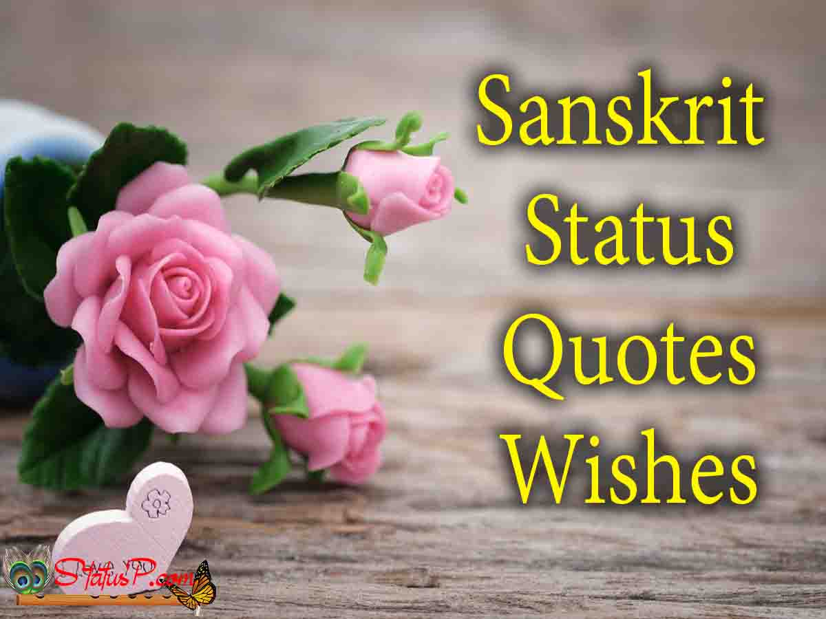 sanskrit status quotes shlok wishes shayari and more