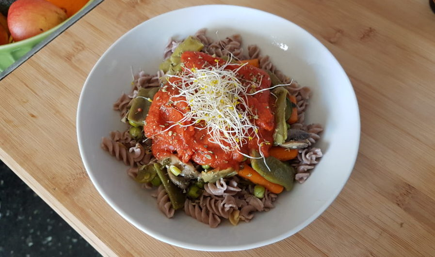 salsa sin tomate para tus recetas terapéuticas