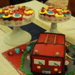 "A memorable ""Firetruck"" themed birthday!"