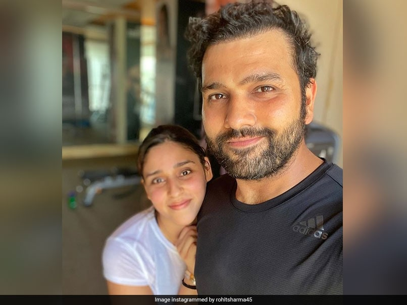 "OneIndia24News: ""Weirdos In Love"": Rohit Sharma And Ritika Sajdeh Win Hearts With Adorable Post"