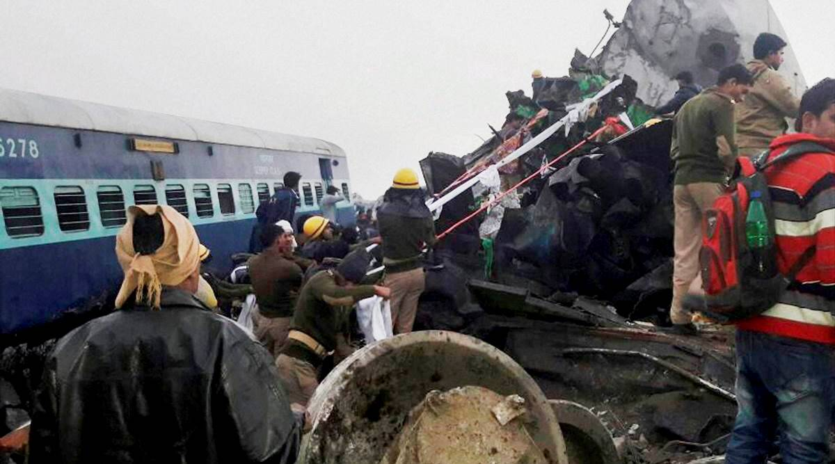 OneIndia24News : In 2016 train accident, Panel finds welding fault but adds caveat: wait for the NIA sabotage probe