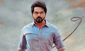 OneIndia24News: Karthi's majestic first look from 'Sulthan' released