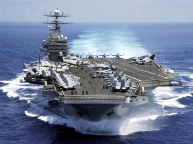 One India 24 News: US All Set To Deploy Nuclear-Powered Aircraft Carrier Carl Vinson For Second Phase Of Malabar Exercise