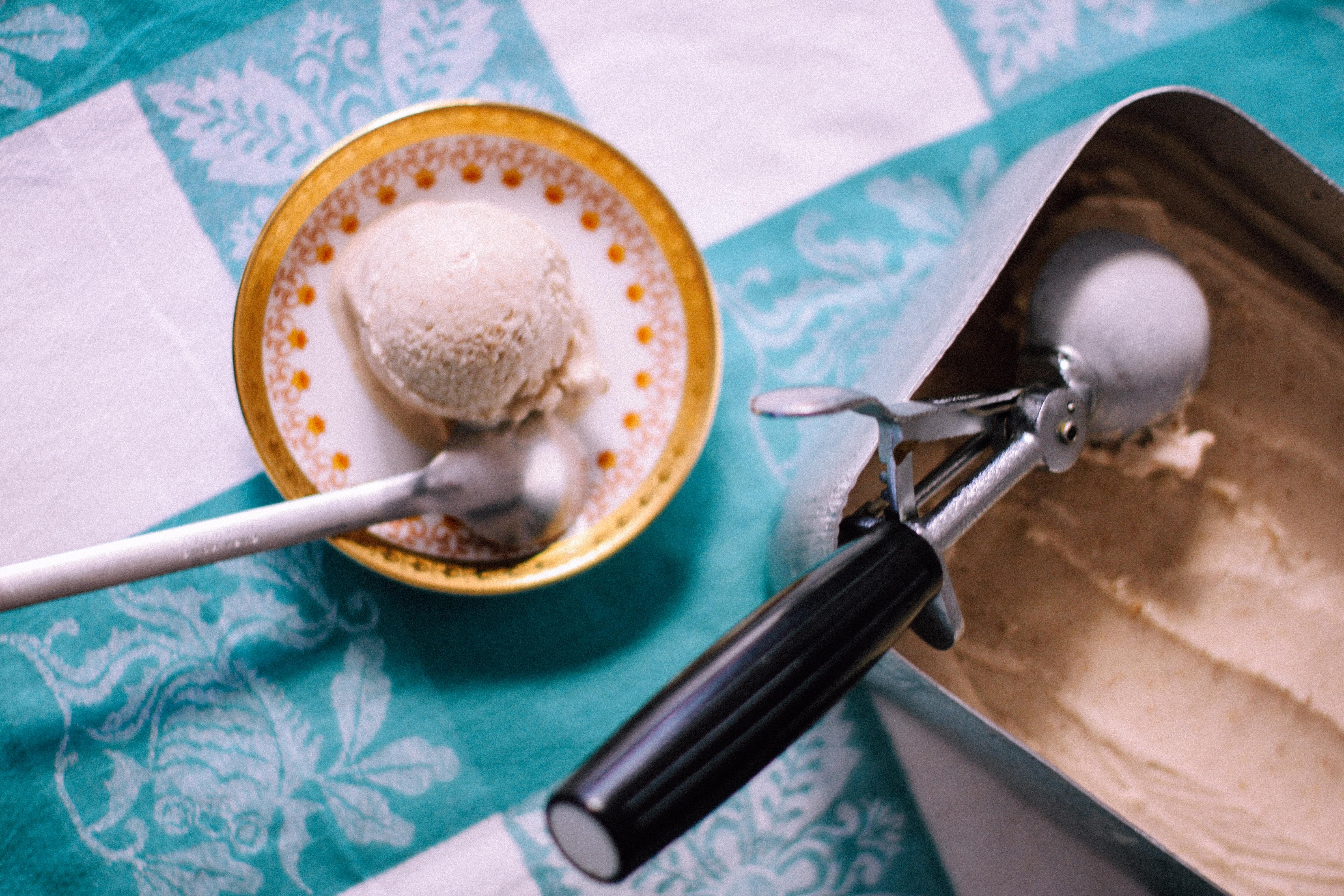 Σπιτικό παγωτό βανίλιας