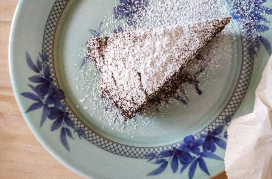 Κέικ κακάου και σοκολάτας