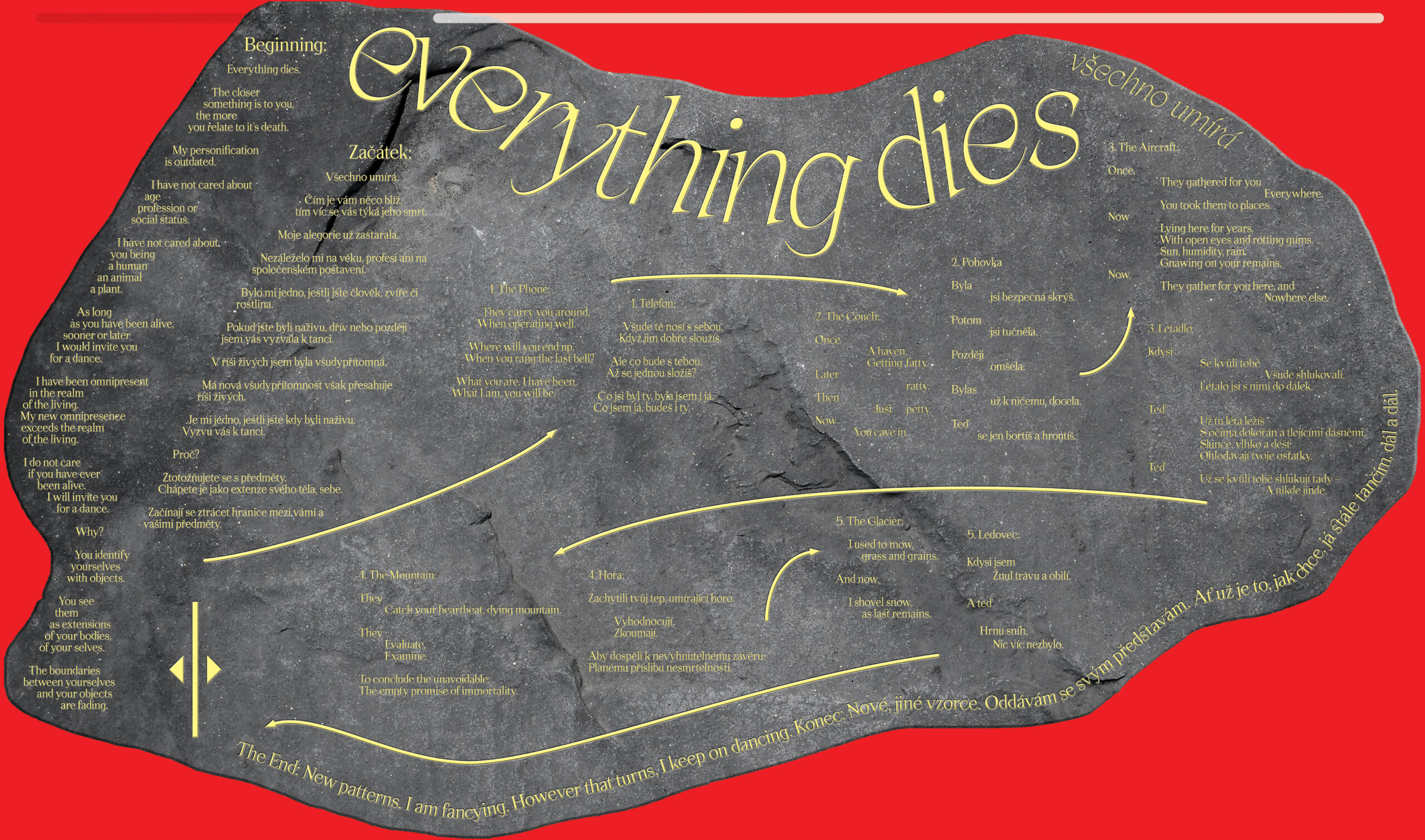 Everything Dies. Všechno Umírá.