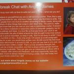 Angela James author in MT Word 2013