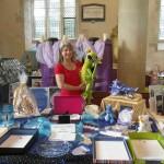 Angela James author at Avebury Solstice Fair 2014
