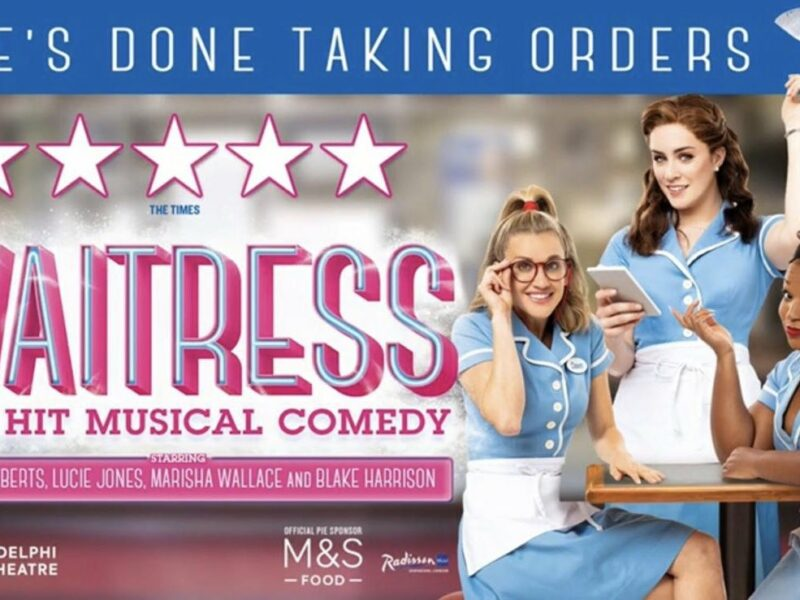 WAITRESS EXTENDS WEST END RUN TO JANUARY 2020