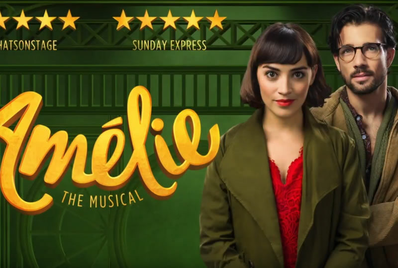 AMÉLIE THE MUSICAL UK TOUR TRAILER RELEASED
