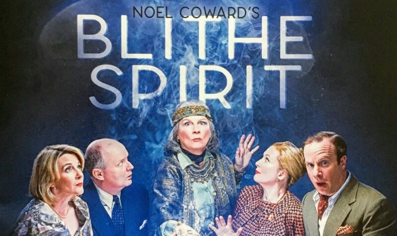 BLITHE SPIRIT STARRING JENNIFER SAUNDERS – WEST END & TOUR ANNOUNCED
