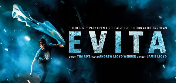 REGENT'S PARK OPEN AIR THEATRE PRODUCTION OF EVITA TRANSFER ANNOUNCED