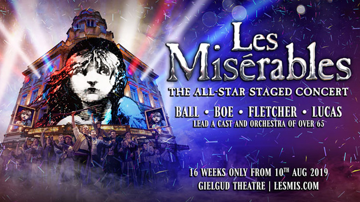 LES MISÉRABLES – THE ALL-STAR STAGED CONCERT CINEMA SCREENING ANNOUNCED