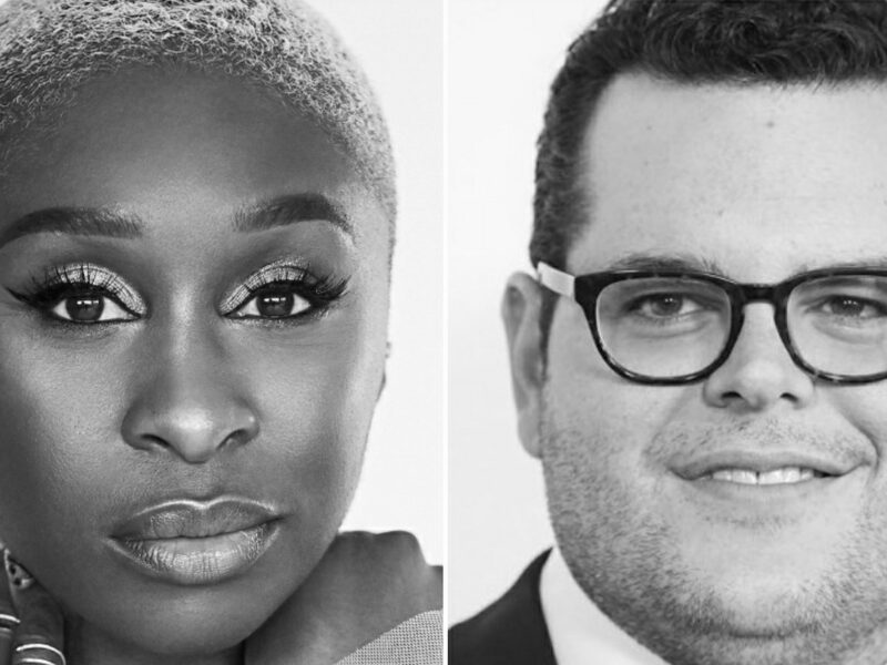 CYNTHIA ERIVO & JOSH GAD TO STAR IN  RIP VAN WINKLE MUSICAL FILM