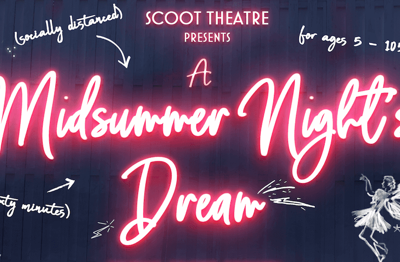 SCOOT THEATRE'S OPEN AIR TOUR OF A MIDSUMMER NIGHT'S DREAM CAST ANNOUNCED