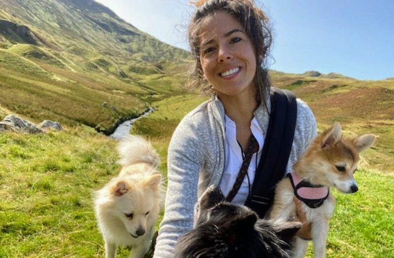 WEST END STAR AIMIE ATKINSON TREKS ACROSS THE UK – COAST TO COAST – TO RAISE MONEY FOR THE ROYAL THEATRICAL FUND
