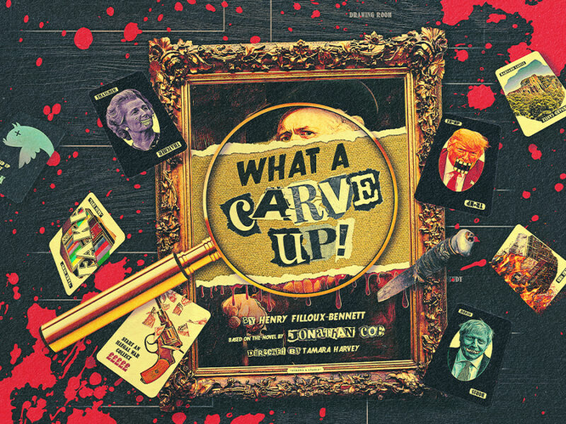 SIR DEREK JACOBI, SHARON D. CLARKE & STEPHEN FRY AMONG INITIAL CASTING ANNOUNCED FOR DIGITAL PRODUCTION OF WHAT A CARVE UP!